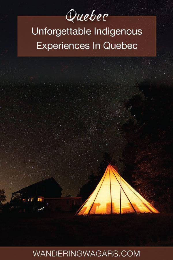 Quebec Indigenous Tourism