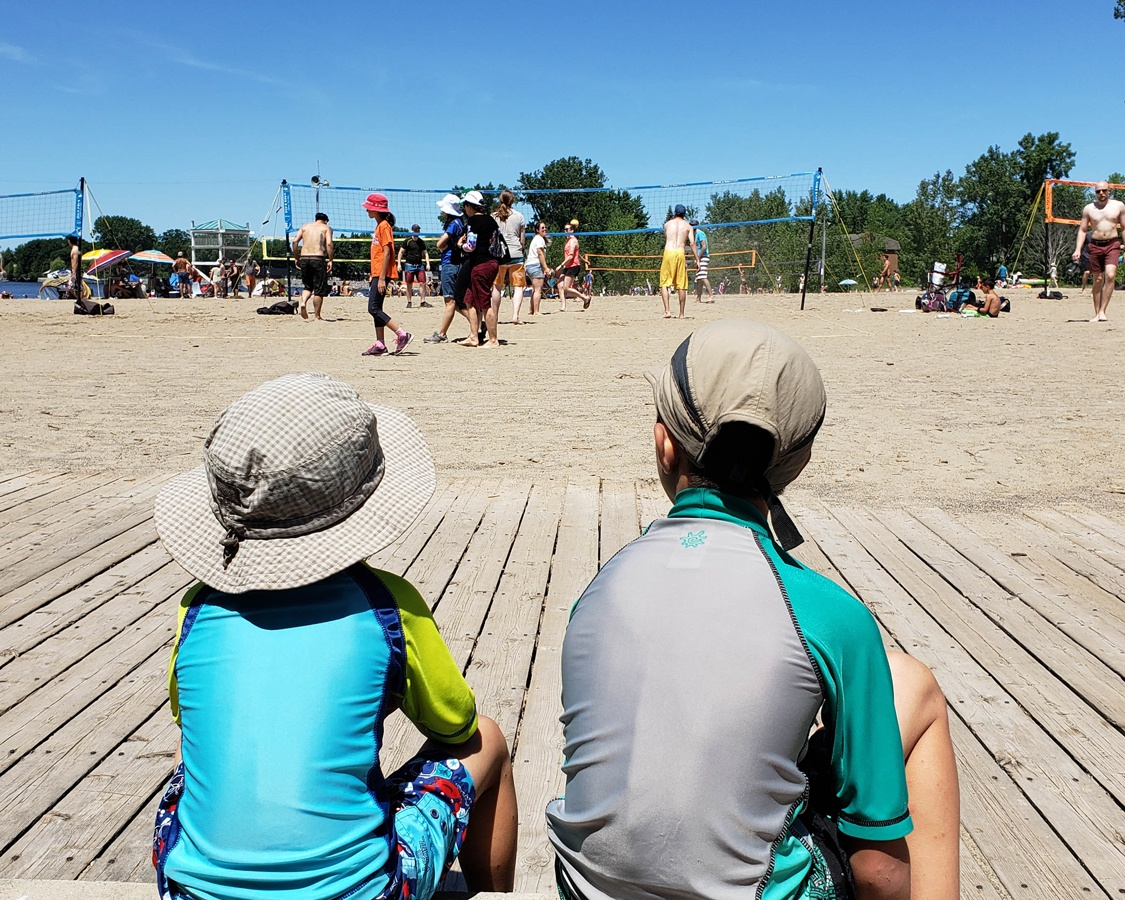 Beaches in Ottawa for kids