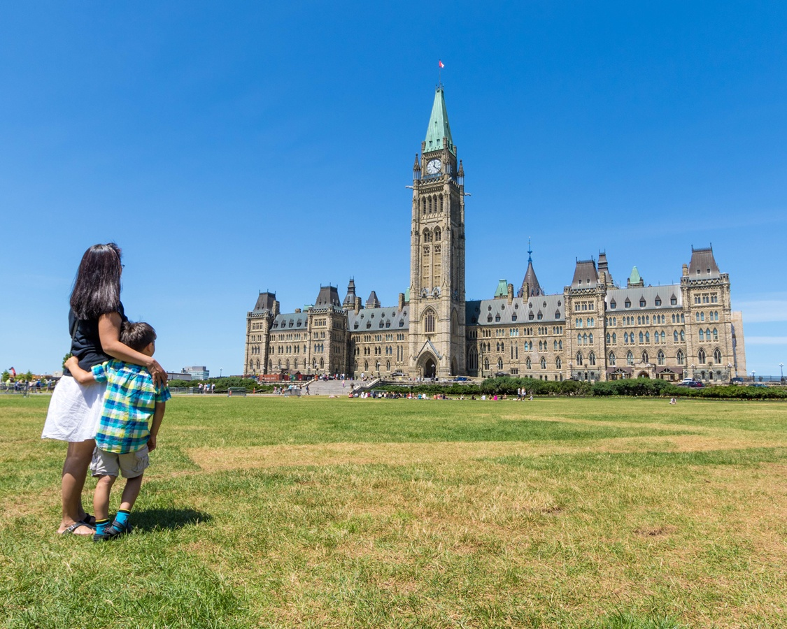 Things to do in Ottawa with kids Parliament Buildings