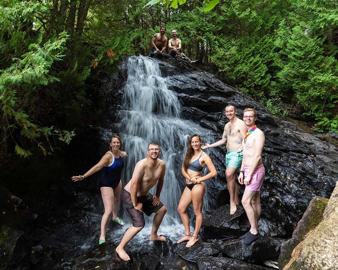 KAwartha Lakes Provincial Park Waterfall