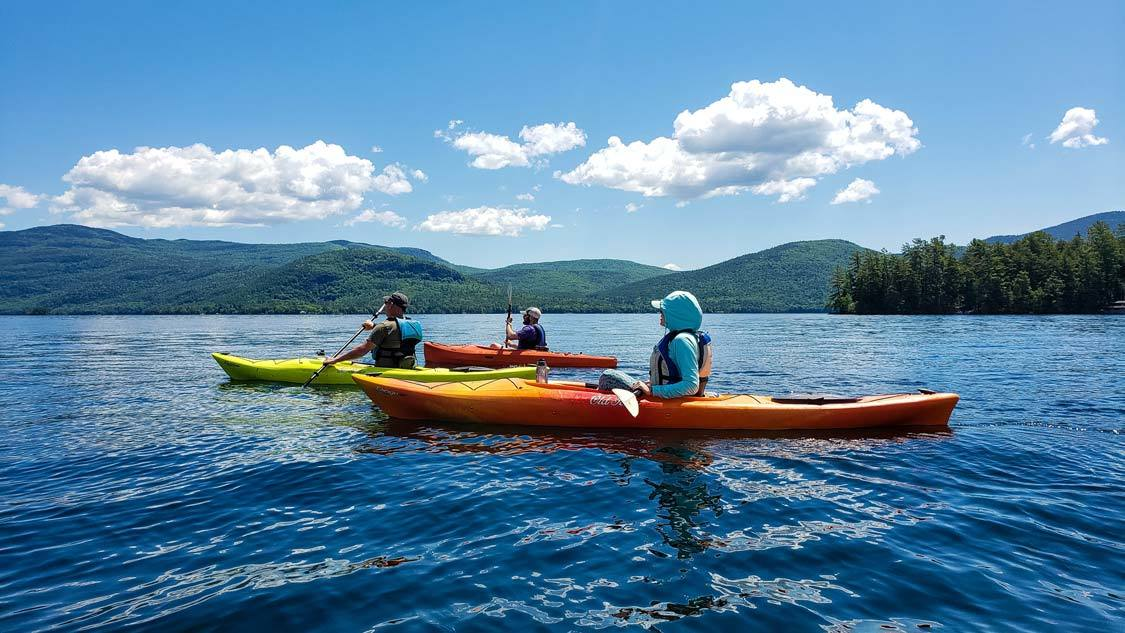 Best attractions in Lake George Kayaking
