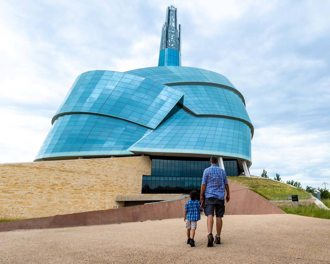 Museum Of Human Rights The Forks Winnipeg