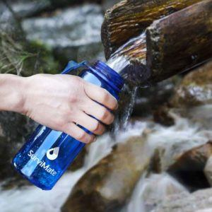 SurviMate Water Filter Bottle