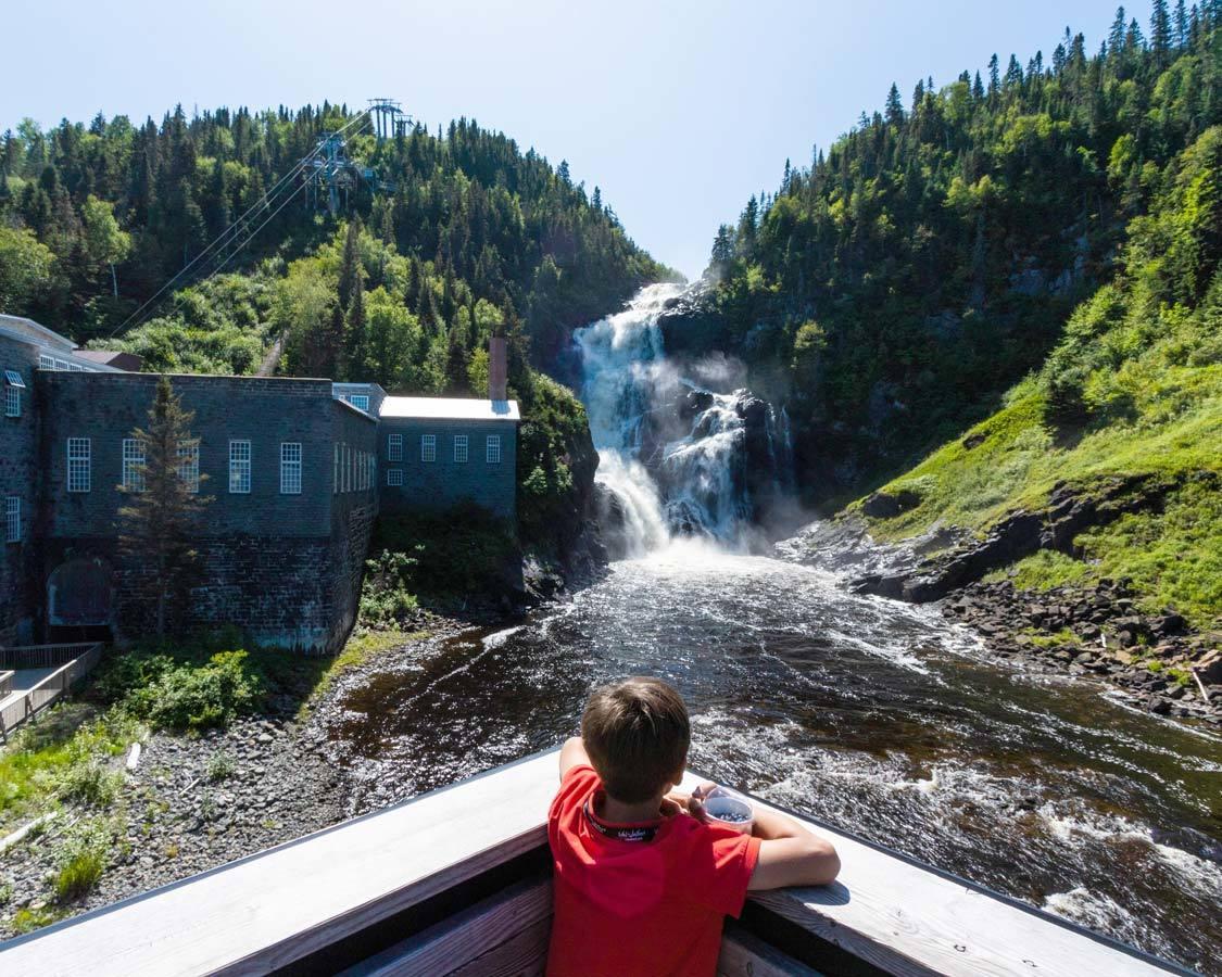 Saguenay-Lac-St-Jean-Historic Village of Val Jalbert