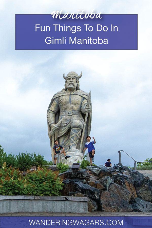 things to do in Gimli Manitoba