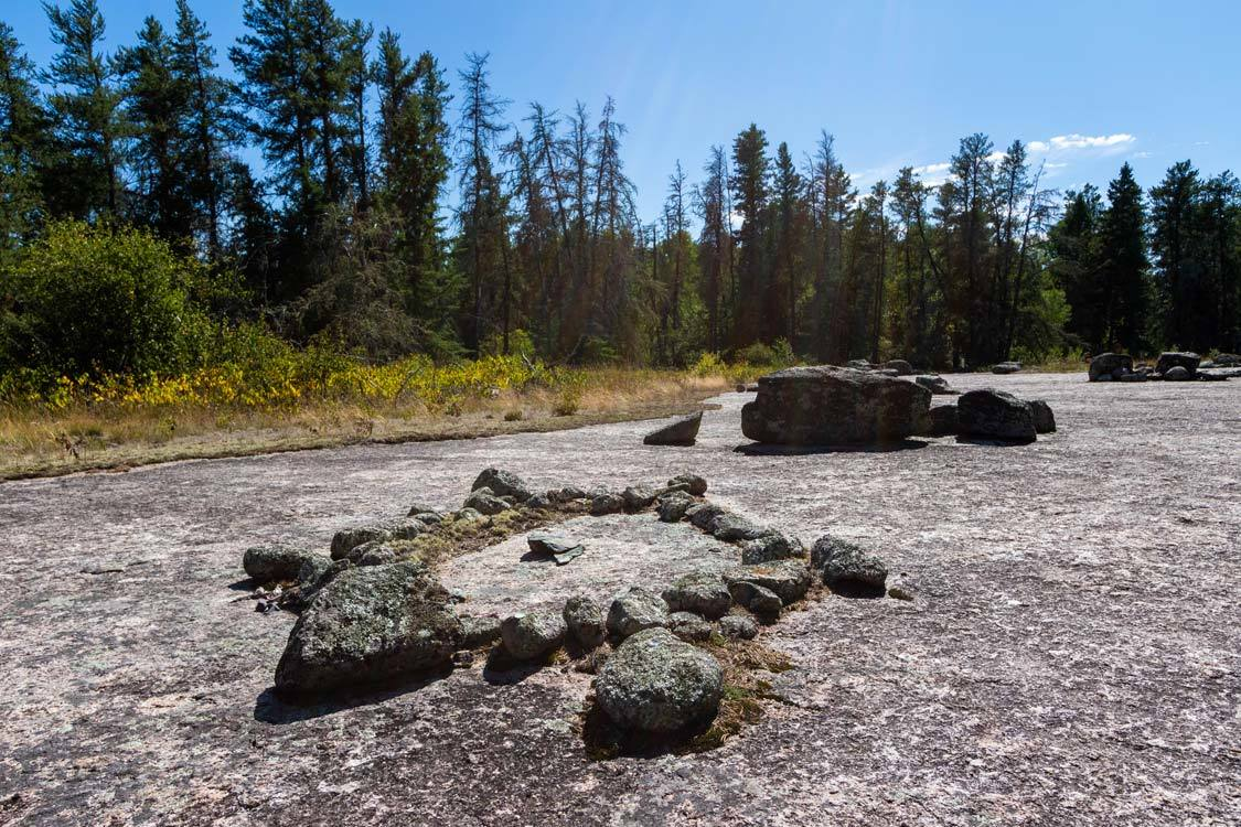 Things to do in Whiteshell Provincial Park Bannock Point Petroforms
